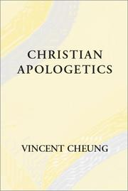 Cover of: Christian Apologetics