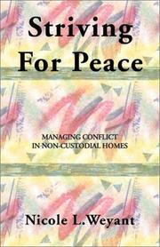 Cover of: Striving for Peace | Nicole L. Weyant