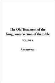 Cover of: The Old Testament of the King James Version of the Bible | Indy Publications