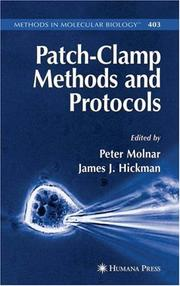 Cover of: Patch-Clamp Methods and Protocols (Methods in Molecular Biology) |