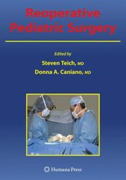 Cover of: Reoperative pediatric surgery by