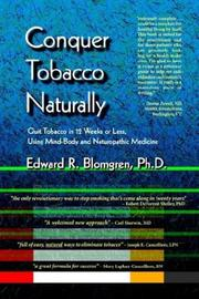Cover of: Conquer Tobacco Naturally | Edward Blomgren
