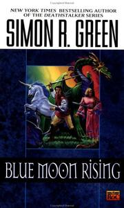 Cover of: Blue Moon Rising (Hawk & Fisher)