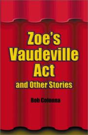 Cover of: Zoe's Vaudeville Act