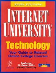 Internet University, Technology (Internet University) by D. Quinn Mills