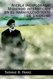 Cover of: Niebla Inexplorada