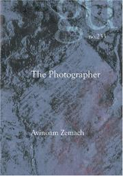Cover of: The Photographer | Avinoam Zemach
