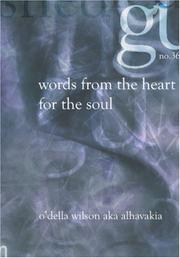 Cover of: Words from the Heart for the Soul | O