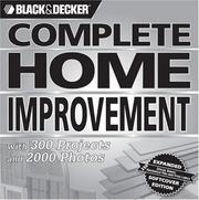 Cover of: Black & Decker Complete Home Improvement | Creative Publishing international