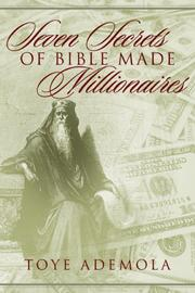 Cover of: Seven Secrets of Bible-Made Millionaires