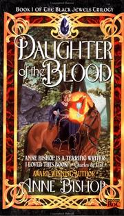 Cover of: Daughter of the Blood (The Black Jewels #1)