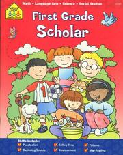 Cover of: First Grade Scholar | School Zone Publishing Company