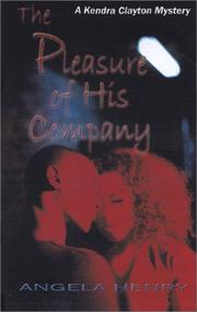 Cover of: The Pleasure of His Company