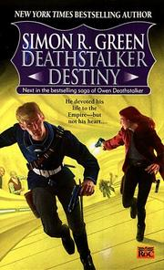 Cover of: Deathstalker Destiny: being the fifth and last part of the life and times of Owen Deathstalker