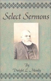 Cover of: Select Sermons | Dwight Lyman Moody