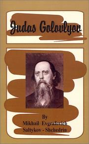 Cover of: Judas Golovlyov