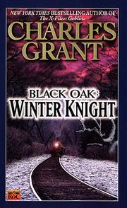 Cover of: Black Oak. | Charles L. Grant