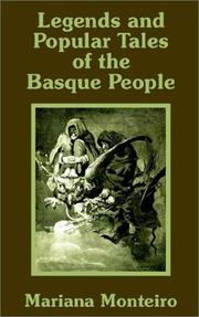 Legends and popular tales of the Basque people by Mariana Monteiro