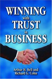 Cover of: Winning with trust in business