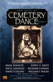 Cover of: The Best of Cemetery Dance, Volume 2 | Various