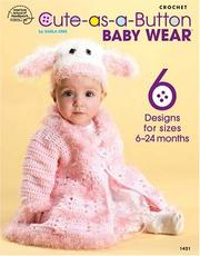 Cover of: Cute as a Button Baby Wear (1421)