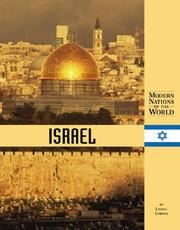 Cover of: Modern Nations of the World - Israel (Modern Nations of the World)