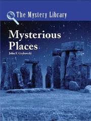Cover of: The Mystery Library - Mysterious Places (The Mystery Library)
