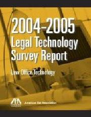 Cover of: 2006 ABA Legal Technology Survey Report | ABA Legal Technology Resource Center