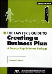 Cover of: The Lawyer's Guide to Creating a Business Plan