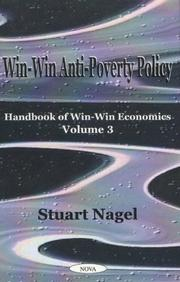 Cover of: Win-Win Anti-Poverty Policy