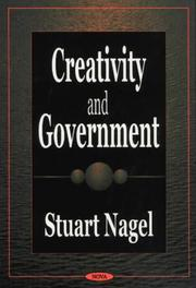 Cover of: Creativity and Government