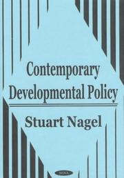 Cover of: Contemporary Developmental Policy