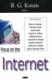 Cover of: Focus on the Internet