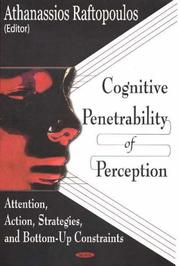 Cover of: Cognitive Penetrability Of Perception | Athanassios Raftopoulos
