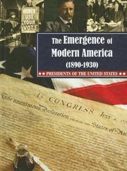 Cover of: The Emergence of Modern America (1890-1930) (Presidents of the United States)