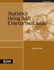 Statistics using SAS Enterprise Guide by James B. Davis