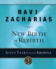 Cover of: New birth or rebirth?: Jesus Talks with Krishna (Great Conversations)