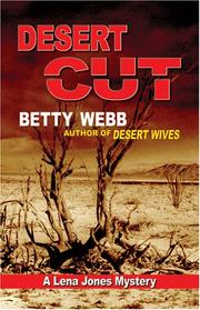 Cover of: Desert Cut | Betty Webb