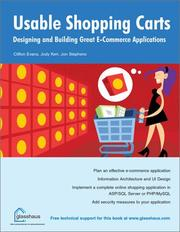 Usable Shopping Carts by Jon Stephens, Jody Kerr, Clifton Evans