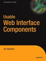 Cover of: Usable Web Interface Components