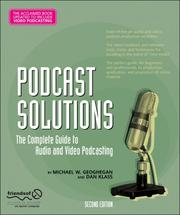 Cover of: Podcast Solutions |