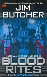 Cover of: Blood rites: A Novel of the Dresden Files