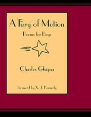 Cover of: Fury Of Motion