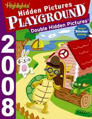 Cover of: Hidden Pictures Playground Double Hidden Pictures (Hidden Pictures Playground) | Highlights for Children