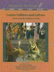 Cover of: Latino Folklore And Culture