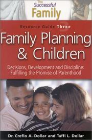 Cover of: Family Planning and Children Resource Guide 3 (The Successful Family) | Creflo Dollar