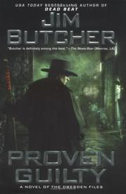 Cover of: Proven Guilty: a novel of the Dresden files