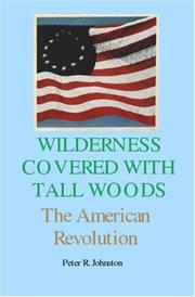Cover of: Wilderness covered with tall woods