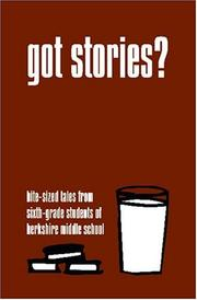 Cover of: Got Stories?