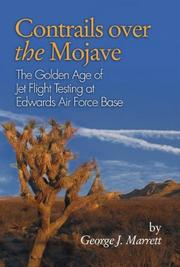 Cover of: Contrails Over the Mojave | George J. Marrett